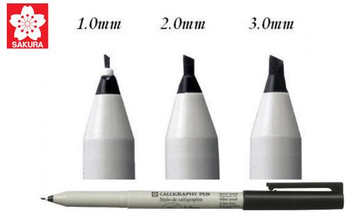 قلم خوشنویسی ساکورا - نگار ابزار (نماینده رسمی ساکورا و کوپیک در ایران)